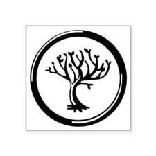 "Amity Divergent Square Sticker 3"" x 3"""