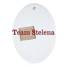 Team Stelena Ornament (Oval)