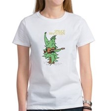 Women's Cap Sleeve Spruce Bingsteen T-Shirt