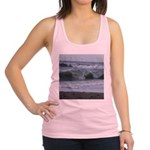 Breaking Waves Racerback Tank Top