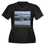 Breaking Waves Plus Size T-Shirt