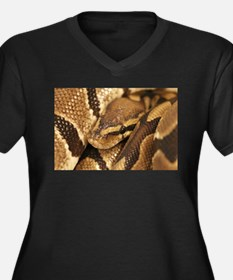 Ball Python Plus Size T-Shirt