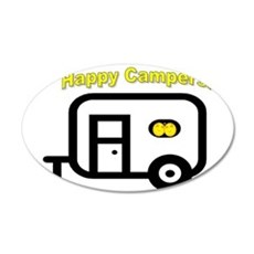 Happy Campers! Wall Decal