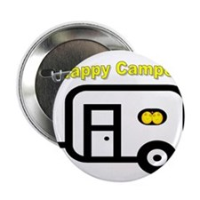 """Happy Campers! 2.25"""" Button"""