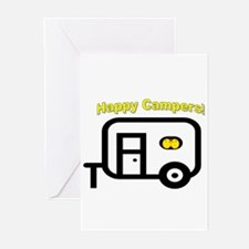 Happy Campers! Greeting Cards