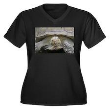 Happy Tortoise Plus Size T-Shirt