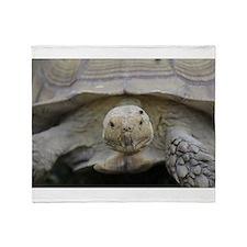 Happy Tortoise Throw Blanket