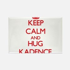 Keep Calm and Hug Kadence Magnets