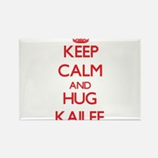 Keep Calm and Hug Kailee Magnets