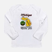 MICHIGAN'S FUTURE Long Sleeve T-Shirt