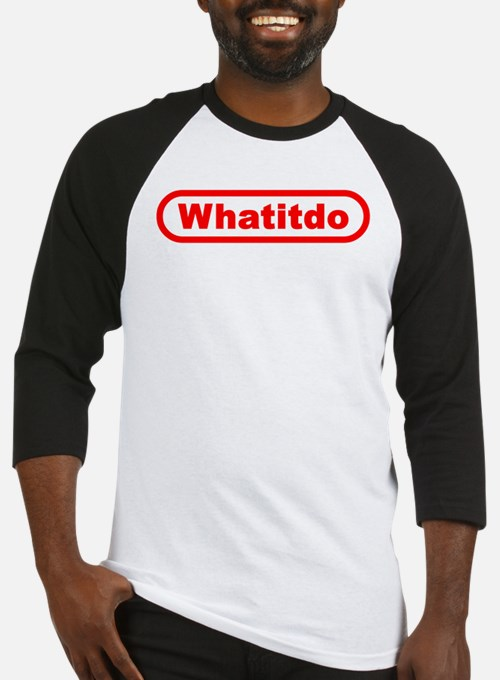 Whatitdo (What it do?) Baseball Jersey