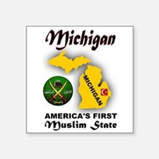 MICHIGAN'S FUTURE Sticker