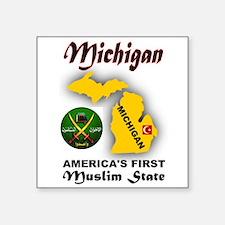 MICHIGAN'S FUTURE Sticker