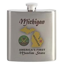 MICHIGAN'S FUTURE Flask