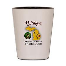 MICHIGAN'S FUTURE Shot Glass