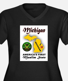 MICHIGAN'S FUTURE Plus Size T-Shirt