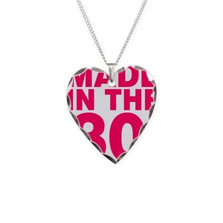 Made In The 80s Necklace Heart Charm