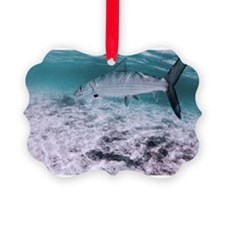 Bonefish on the Fly Ornament