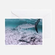 Bonefish on the Fly Greeting Card