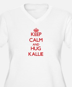 Keep Calm and Hug Kallie Plus Size T-Shirt