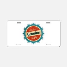 Retro Genuine Quality Since 1976 Aluminum License