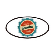 Retro Genuine Quality Since 1974 Patches
