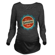 Retro Genuine Quality Since 1974 Long Sleeve Mater