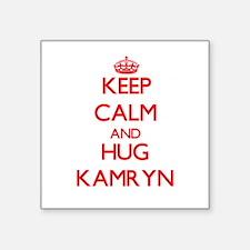 Keep Calm and Hug Kamryn Sticker
