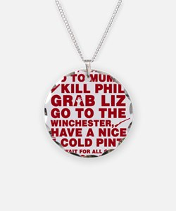Shaun Of The Dead Montage Necklace