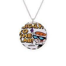 Quickly To The Lab! Necklace