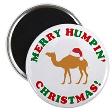 Merry Humpin Christmas Magnet