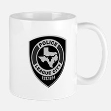 League City Police Mugs