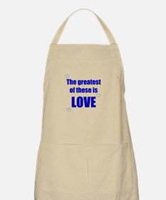 BLUE LOVE BBQ Apron