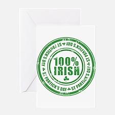 Funny Irish vintage Greeting Card