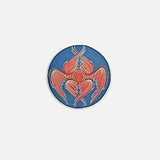 Orthodox Christian Icon: Seraphim Mini Button