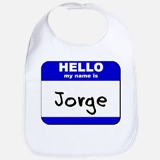 hello my name is jorge  Bib