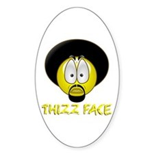 Thizz Face Oval Decal