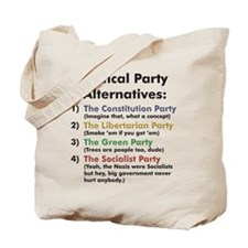 Political Party Tote Bag