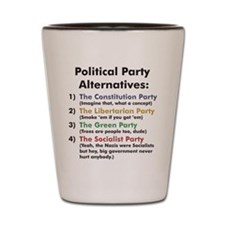 Political Party Shot Glass