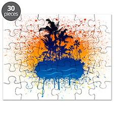Paradise Graffiti Island Puzzle
