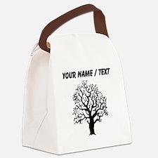 Custom Oak Tree Canvas Lunch Bag
