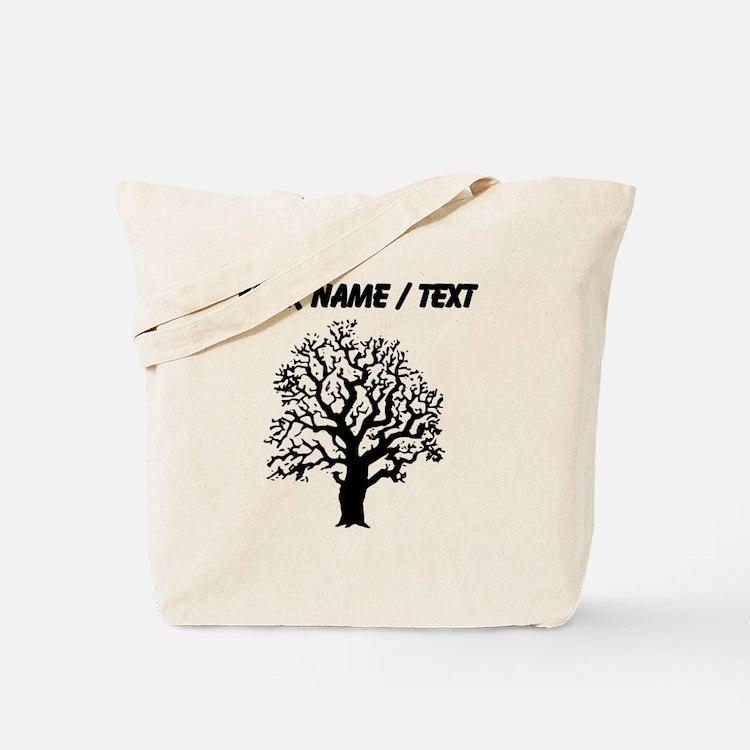 Custom Oak Tree Tote Bag