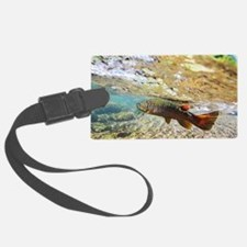 Brown Trout Luggage Tag