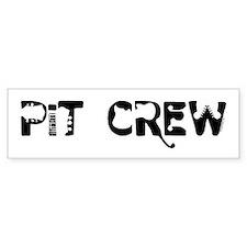Band Pit Crew Bumper Bumper Sticker