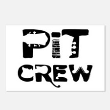 Band Pit Crew Postcards (Package of 8)