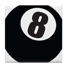 8 Ball Tile Coaster