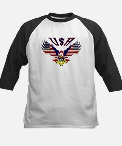 'Eagle w/ Flag Wings (USA)'  Tee