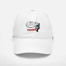 Think! No Pain No Gain Baseball Baseball Baseball Cap
