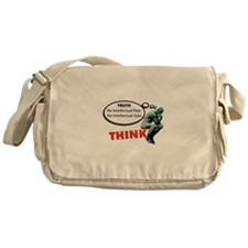 Think! No Pain No Gain Messenger Bag