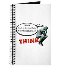 Think! No Pain No Gain Journal